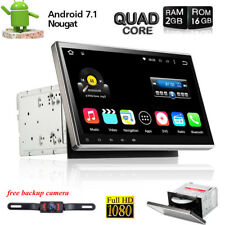 """10.1"""" Car Android 7.1 Stereo Radio Double 2DIN 2GB RAM GPS DVD Player Quad-Core"""