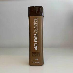 Brazilian Blowout Anti-Frizz Shampoo 12 oz   new packaging fresh