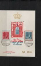 LUXEMBURG 1945 PRIVATE ISSUE BLOCK CARITAS USED ( N° 50000 PIECES)