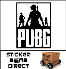PLAYERUNKNOWN'S BATTLEGROUNDS Decal PUBG Logo Sticker PvP Twitch Popular Loot