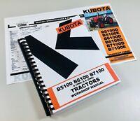 Kubota B6100 B6100D B6100E Tractor Service Workshop Repair Manual