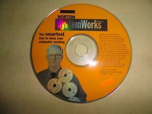 1999 NORTON SYSTEM WORKS  VERSION 2.0 BY SYMANTEC - HARD TO FIND DISKS