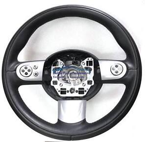 BMW MINI COOPER R55 R57 6762458 VOLANTE IN PELLE CON COMANDI MULTI FUNZIONE