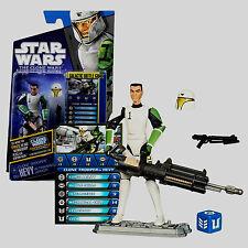 Star Wars The Clone Wars Clone Trooper HEV CW41 In Training Armor MOC!