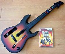 Nintendo Wii Guitar Hero World Tour Wireless Controller & Game UK PAL