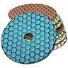 Diamant Polierscheibe Schleifpad Polierpad Trocken K 50 - Buff, Aufnahmeteller