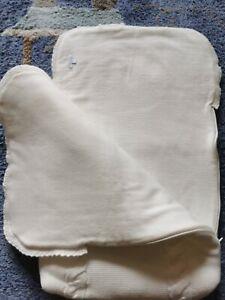 Sacco Imbottito in lana per Neonato color bianco panna