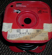 Belden 9223 RG-58 Coaxial Cable 100ft Spool NOS Low Triboelectric Noise Coax