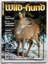 WILD und HUND - Für Jäger und andere Naturfreunde - Nr. 1 / Januar 1998