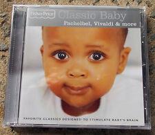 FISHER PRICE Classic Baby CD-- Pachelbel,Vivaldi & more FREE POST