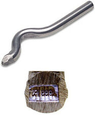 Jewelers Metal Stamp 999FS (FINE SILVER) Bent