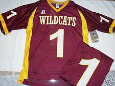 NEW WILDCATS FOOTBALL JERSEY SHIRT XL MAROON