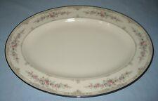 """Vintage Noritake SHENANDOAH Pattern Bone China 14""""  Serving Platter"""