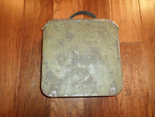GENUINE WWI RUSSIAN IMPERIAL ARMY MG MAXIM AMMO BELT TIN BOX AND BANDOLEER