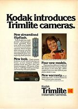 Kodak Trimlite Instamatic Camera--1975 Advertisement