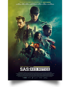 SAS- Red Notice Movies Art Print Decor Home Poster Full Size