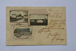 Ansichtskarte Voigtsdorf Gasthaus Schule 1909
