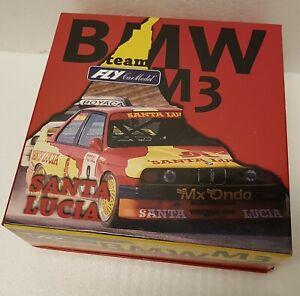 Fly 99045 Car Model BMW M3 E30 Santa Lucia 1:32 Slotcar