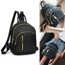 Women Girl Small Waterproof Nylon Daypack Travel Book Bag Backpack Rucksack