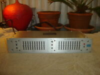 Urei 535, Dual Graphic Equalizer, 10 Band, Eq, Vintage Rack