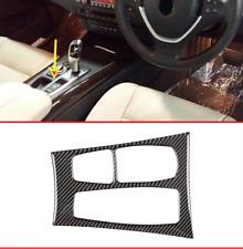 BMW X5 X6 E70 E71 2010 2011 2012 2013 RHD carbon fiber console cover