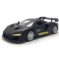1:32 McLaren Senna V8 Model Car Diecast Supercar Toy Vehicle Gift Kids Black