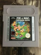 Game Boy Joe & Mac Caveman Ninja NTSC Cart Only Very Rare