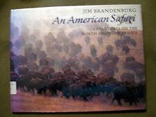 AN AMERICAN SAFARI JIM BRANDENBURG 1995 HARDCOVER