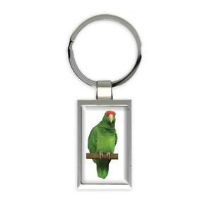 Gift Keychain : Parrot Bird Cute Animal Aviary Ecology Nature