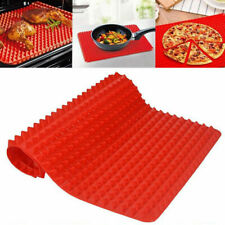 Silicone Baking Mat Pyramid Cone Pan Cooking Liner Tray Fat Reducing Non Stick