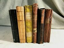 6 Antique Astronomy Books Science Stars Moon Cosmology Shabby Chic