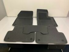 32204611 Genuine Volvo Floor Mats Rubber XC60 2017-2020 Charcoal Manual