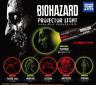 biohazard torch light projectors - set of 6 types - capcom resident evil japan