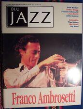 """Rivista """" Blu Jazz """" n. 31/32 - anno 5 - aprile/maggio 1993"""
