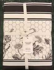 """William Sonoma Honeycomb Tablecloth, Size 70"""" X 126"""" New, W/ $159.95 Tag"""