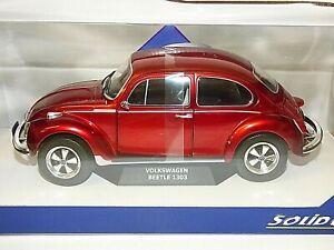 Solido Models 1974 Volkswagen Beetle 1303 Custom Red