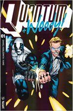 Quantum And Woody #1 Ultra-foil Prism 1:20 variant VALIANT comic