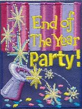 Girl Boy END OF THE YEAR PARTY Hat Fun Patches Crests Badges SCOUT GUIDE Event