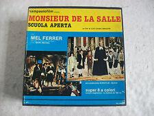 film Super 8 MONSIEUR DE LA SALLE (1964) con Mel FERRER Sampaolo film