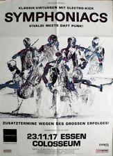 SYMPHONIACS - 2017 - Konzertplakat - Vivaldi / Daft Punk - Tourposter - Essen