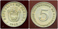 PANAMA   5 centesimos 1962  ( bis )