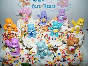 Care Bears Toys 12 Lovely Bears 4-5cm Love Small Statue Figure - cake topper ?