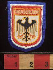 Souvenir Patch ~ DEUTSCHLAND GERMANY ~ EAGLE 69Q7