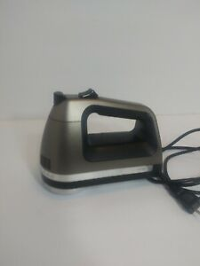 KitchenAid hand mixer KHM620CS0 6 speed Silver Tested/Working