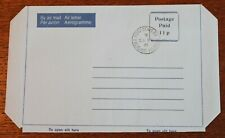 Falklands Is – Airletter -  Postage Paid - 11p - Superb Used – (Se7)