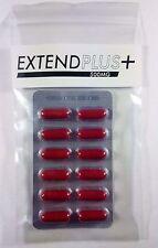 EXTEND PLUS 500MG Premature Ejaculation Delay Pills Prolong Sex & Pleasure 12PK