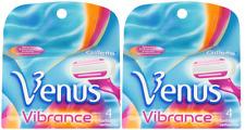 Gillette Venus Vibrance Refill Razor Blades for Women, 4 Count (2 Pack)