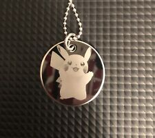 stainless steel necklace 28m Rd - Pokemon - Pikachu - Nintendo - Lets Go Pikachu