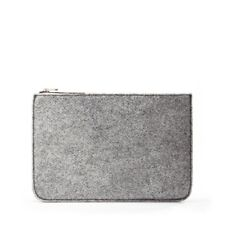 Skagen Grey Felt Pouch Bag Brand New with Tags