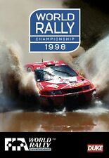 World Rally Championship - Official review 1998 (New DVD) FIA WRC Mcrae Sainz